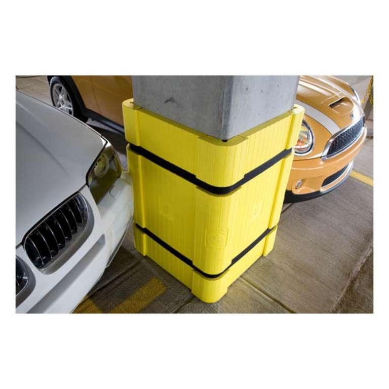 kolombescherming ter bescherming van betonpilaren in parkeergarages.