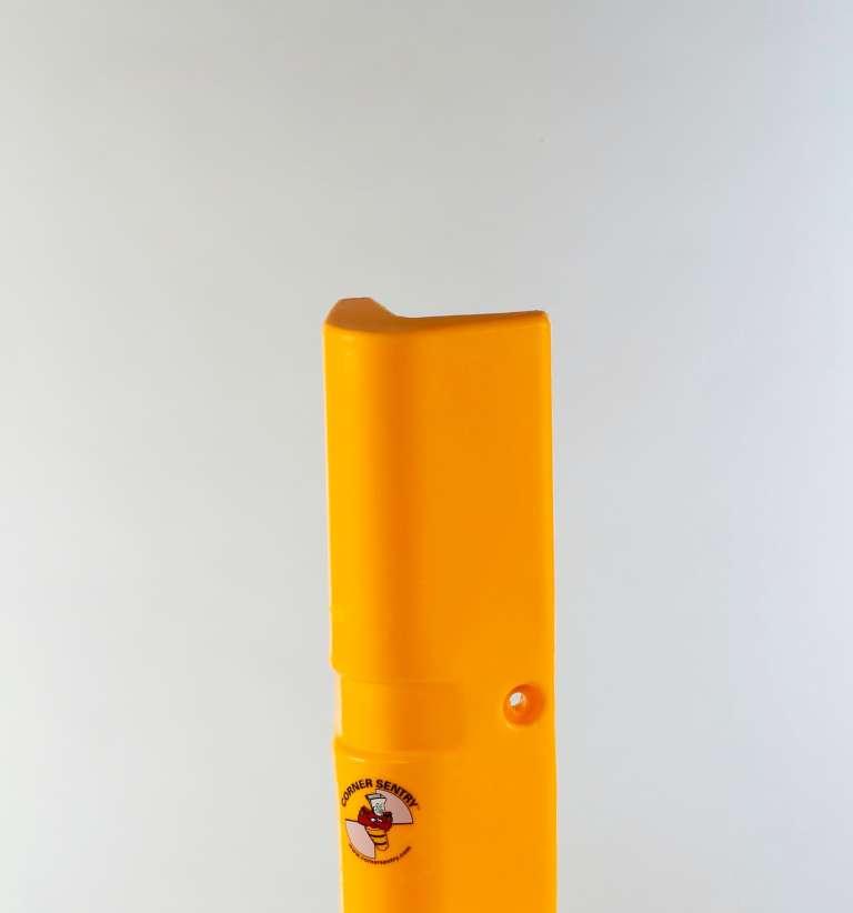 Hoekbescherming in gele kleur