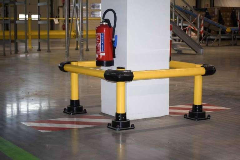 SlowStop kolombescherming voor duurzame bescherming van kolommen