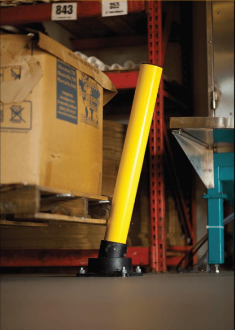stalen stootpaal Slowstop type 1 lichte absorptie voor beveiliging bij lichte aanrijding