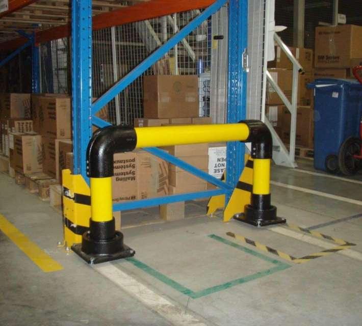 Beschermbeugel slowstop type 2 geschikt ter bescherming van rekken en materiaal