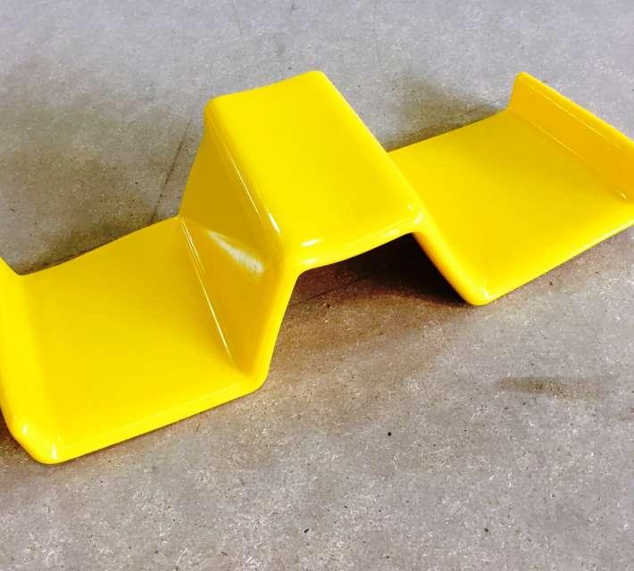 End caps die op vangrail type A en B gemonteerd kunnen worden